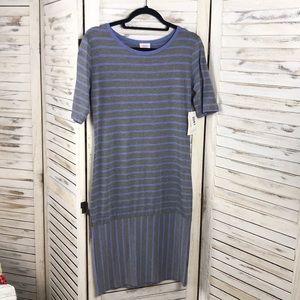 Lularoe | Striped Julia T Shirt Dress
